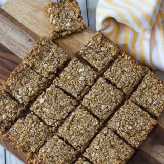 Oat and Quinoa Date Squares