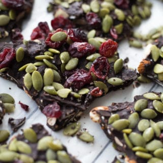 Loaded Dark Chocolate Autumn Bark