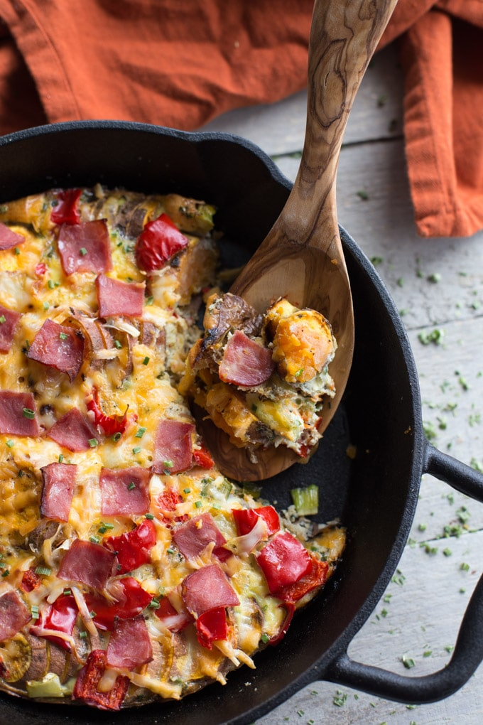 Savoury Sweet Potato Breakfast Skillet