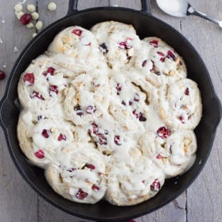 Cranberry White Chocolate Breakfast Buns