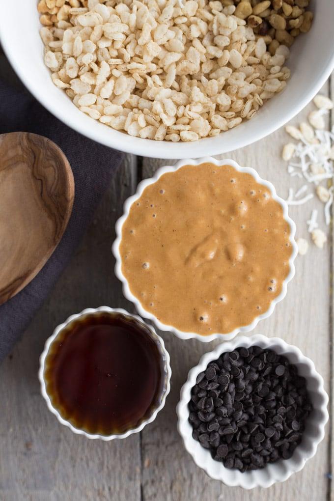 Dark Chocolate Peanut Butter Mounds