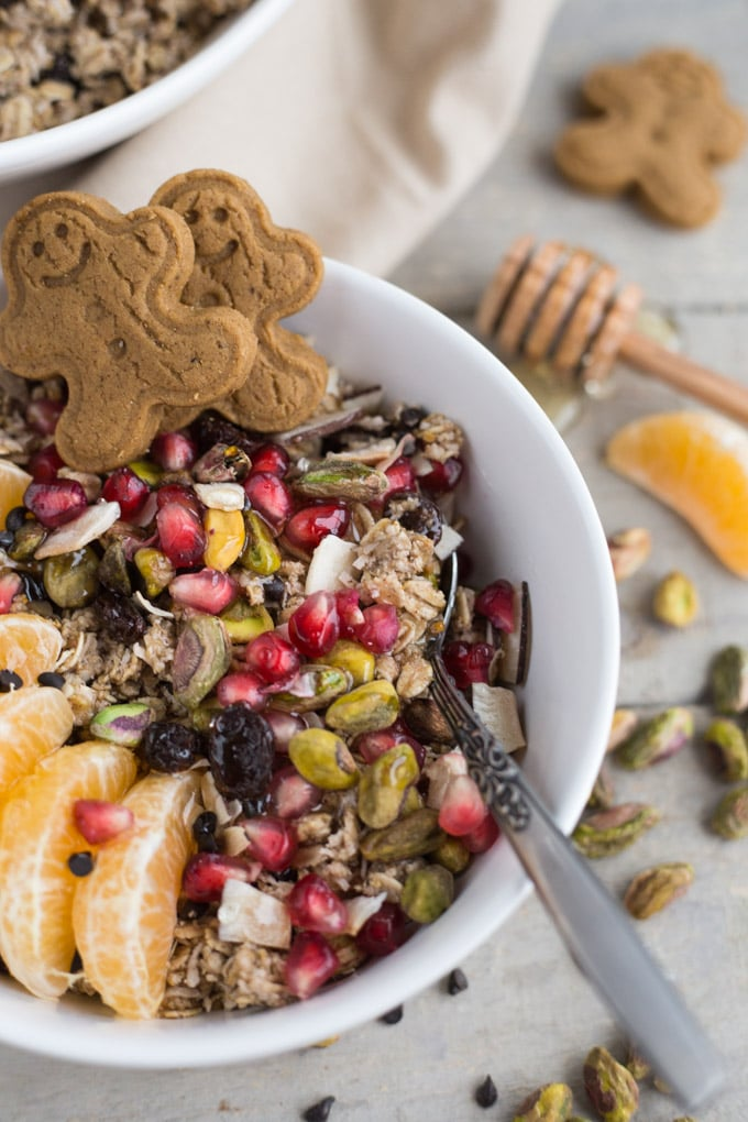 Chocolate Orange Gingerbread Muesli