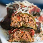 Turkey Stuffed Collard Greens