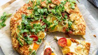 Three Cheese Tomato Galette (Grain-Free)
