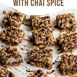 Pinterest image for Chocolate Oat Bars - short pin 2.