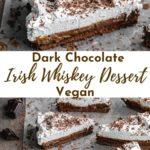 Pinterest image for Chocolate Irish Whiskey Tart - pin 2.