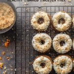 Pinterest image for Carrot Cake Donuts - short pin 1.