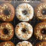 Pinterest image for Carrot Cake Donuts - short pin 2.