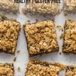 Pinterest image for Healthy Date Squares - Pin 3.