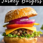 Pinterest image for Turkey Jalapeno Burgers - pin 2.