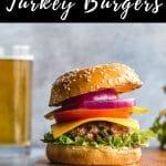 Pinterest image for Turkey Jalapeno Burgers - pin 3.