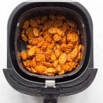 Pinterest image for Air Fryer Roasted Carrots - pin 3.