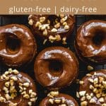 Pinterest image for Protein Donuts - pin 1.