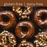 Pinterest image for Protein Donuts - pin 2.