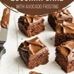 Pinterest image for Healthy Chocolate Zucchini Cake - pin 1.