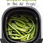 Pinterest image for Air Fryer Green Beans - short pin 3.