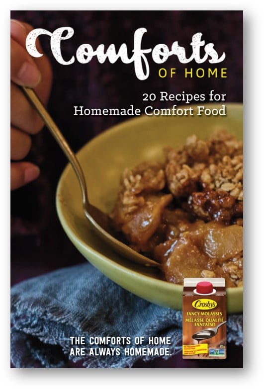 Cover of Crosby's Comforts of Home e-cookbook