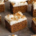 Pinterest image for Easy Gingerbread Cake Recipe - long pin 3.