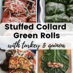 Pinterest image for Stuffed Collard Greens - short pin 4.