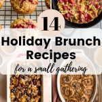 Pinterest image for 14 Holiday Brunch Recipes - short pin 1.