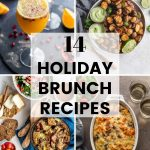 Pinterest image for 14 Holiday Brunch Recipes - short pin 3.