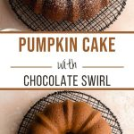 Pinterest image for Pumpkin Bundt Cake - long pin 3.