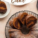 Pinterest image for Pumpkin Bundt Cake - long pin 4.
