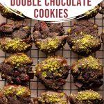 Pinterest image for Cranberry Pistachio Cookies - short pin 1.