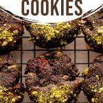 Pinterest image for Cranberry Pistachio Cookies - long pin 4.