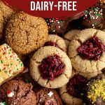 Pinterest image for Dairy-Free Christmas Cookies - Pin 1.