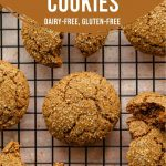 Pinterest image for Ginger Molasses Cookies - pin 3.