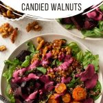 Pinterest image for Roasted Beet and Carrot Salad - long pin 1.