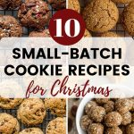 Pinterest image for Small Batch Cookie Recipes for Christmas - pin 2.