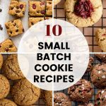 Pinterest image for Small Batch Cookie Recipes for Christmas - pin 4.