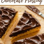 Pinterest image for Avocado Chocolate Frosting.